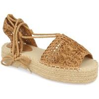 Chaussures Femme Espadrilles Milaya 3S3 Camel