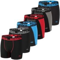 Sous-vêtements Homme Boxers Umbro Lot de 6 Boxers homme Tec Noir