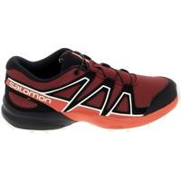 Chaussures Enfant Baskets basses Salomon Speedcross K Rouge Noir Rouge