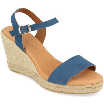 Chaussures Femme Sandales et Nu-pieds Visanze 20049 Jeans