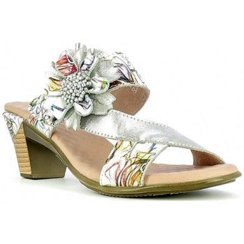Chaussures Femme Mules Laura Vita Mule Becttinoo 171 blanc