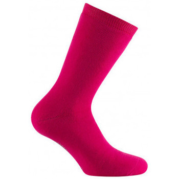 Accessoires Femme Chaussettes Kindy Mi-chaussettes cocooning antidérapantes Fuchsia