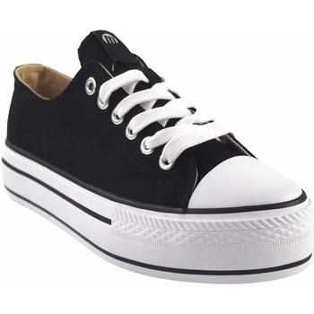 Chaussures Femme Baskets basses MTNG Toile femme MUSTANG 69423 noir Noir