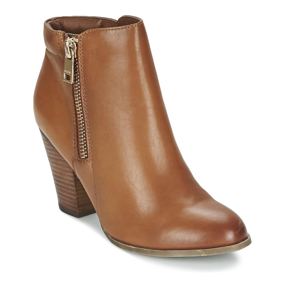a07bcb0aab1 Chaussures Femme Bottines Aldo JANELLA Cognac