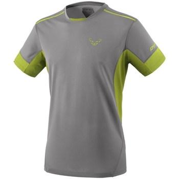 Vêtements Homme T-shirts manches courtes Dynafit Vertical 2 M SS Gris, Vert clair