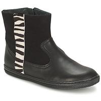 Chaussures Fille Boots Citrouille et Compagnie ELLIA Noir