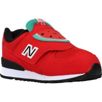 Chaussures Fille Baskets basses New Balance IV574 FRR Rouge