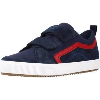 Chaussures Garçon Baskets basses Geox J ALONISSO BOY A Bleu