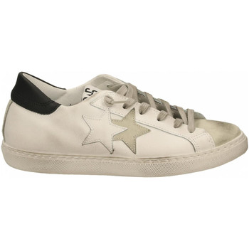Chaussures Homme Baskets basses 2 Stars LOW bianco-nero