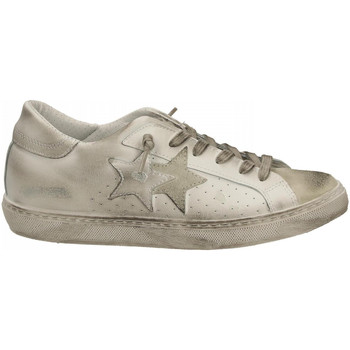 Chaussures Homme Baskets basses 2 Stars LOW bianco-ghiaccio
