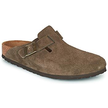 Chaussures Sabots Birkenstock BOSTON Marron