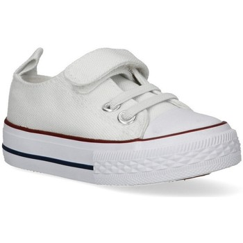 Chaussures Fille Baskets basses Luna Collection 48273 blanc