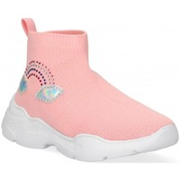 Chaussures Fille Baskets montantes Luna Collection 54692 rose