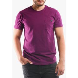 Vêtements Homme T-shirts & Polos Edwin T-shirt avec poche violet