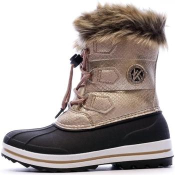 Chaussures Femme Bottes de neige Kimberfeel KL-JADE Rose