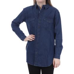 Vêtements Femme Chemises / Chemisiers French Connection 72FBS40 Bleu