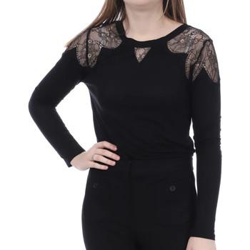 Vêtements Femme T-shirts manches longues French Connection 76GXT1 Noir