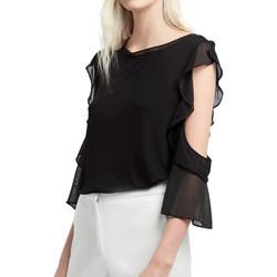 Vêtements Femme Tops / Blouses French Connection 76HXJ1 Noir