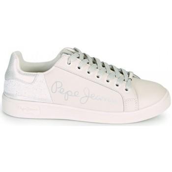 Chaussures Femme Baskets basses Pepe jeans Brompton fun Blanc Blanc
