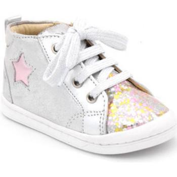 Chaussures Fille Boots Shoo Pom kikki star Argenté