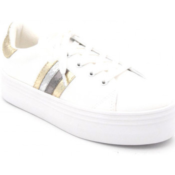 Chaussures Femme Baskets basses No Name plato m derby blanc