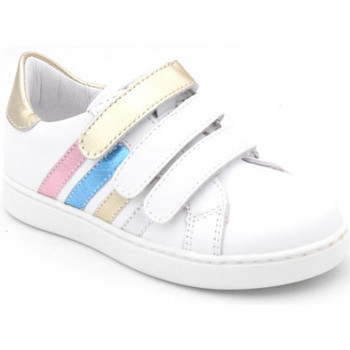 Chaussures Fille Baskets basses Bellamy opale blanc