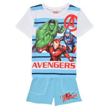 Vêtements Garçon Ensembles enfant TEAM HEROES  AVENGERS SET Multicolore