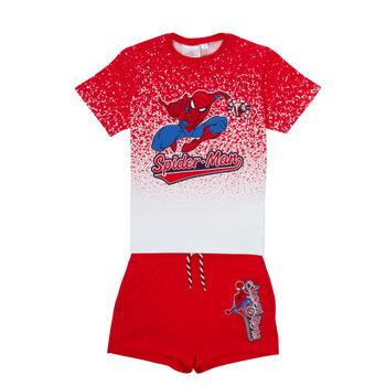 Vêtements Garçon Ensembles enfant TEAM HEROES  SPIDERMAN SET Multicolore