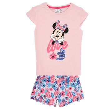 Vêtements Fille Ensembles enfant TEAM HEROES  MINNIE SET Rose