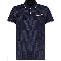 Vêtements Garçon Polos manches courtes Deeluxe Polo SLICE Navy