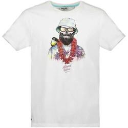 Vêtements Garçon T-shirts manches courtes Deeluxe T-Shirt ALOHA White