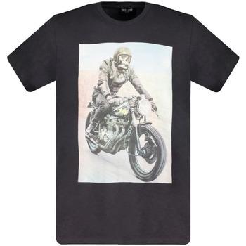 Vêtements Garçon T-shirts manches courtes Deeluxe T-Shirt RINGO Charcoal
