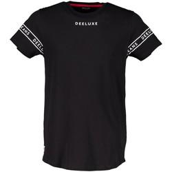 Vêtements Garçon T-shirts manches courtes Deeluxe T-Shirt WAKE Black