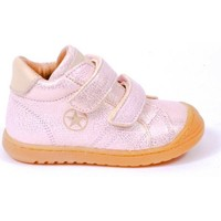 Chaussures Fille Boots Bisgaard Baskets cuir TAYLOR rose