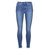 Vêtements Femme Jeans slim Only ONLBLUSH Bleu medium
