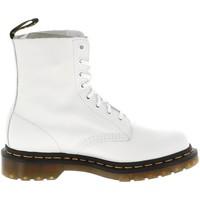 Chaussures Femme Baskets mode Dr Martens Pascal blanc 8 trou Blanc