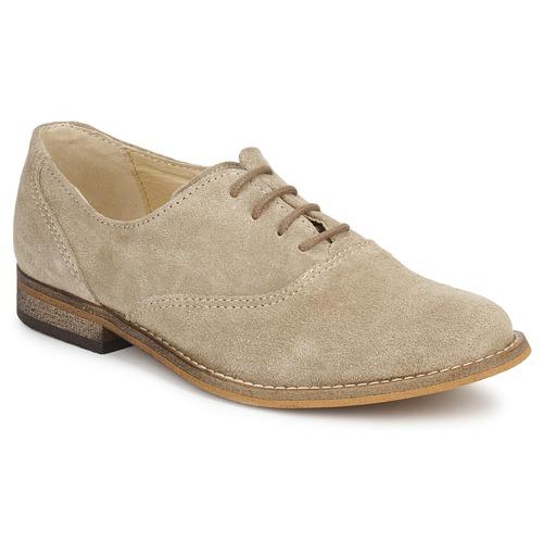 Chaussures Fille Richelieu Citrouille et Compagnie MOUTUNE Beige