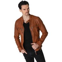 Vêtements Homme Vestes en cuir / synthétiques Cityzen KANSAS COGNAC Cognac