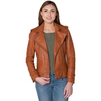 Vêtements Femme Vestes en cuir / synthétiques Cityzen APRILIA 2 COGNAC Cognac