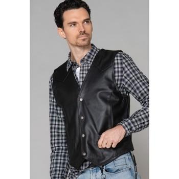 Vêtements Homme Vestes en cuir / synthétiques Last Rebels NORTON B MPL BL Noir