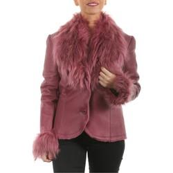 Vêtements Vestes en cuir / synthétiques Arturo Kalina Rose Rose