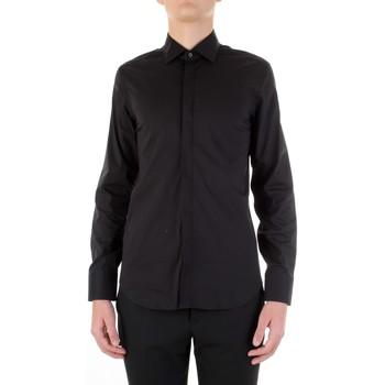 Vêtements Homme Chemises manches longues Manuel Ritz 3030E651-213229 Noir