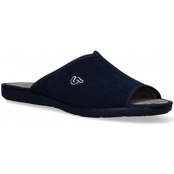 Chaussures Homme Chaussons Garzon 54978 bleu