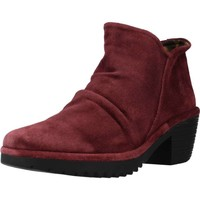 Chaussures Femme Bottines Fly London WEZO890FLY Rouge