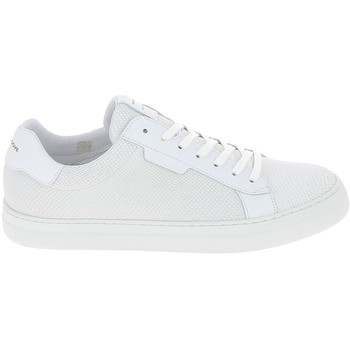 Chaussures Homme Baskets basses Schmoove Spark Clay Nappa Lezard Blanc Blanc
