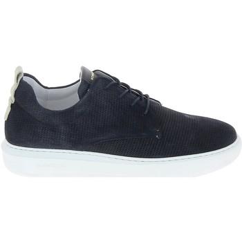 Chaussures Homme Baskets basses Schmoove Bump Suede Print Bleu Bleu