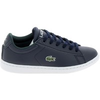 Chaussures Homme Baskets basses Lacoste Carnaby C Marine Blanc Bleu