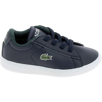 Chaussures Baskets basses Lacoste Carnaby BB Marine Blanc Bleu