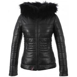 Vêtements Femme Vestes en cuir / synthétiques Oakwood JELLYTA NOIR Noir