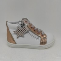 Chaussures Fille Baskets montantes GBB AD201 VALA blanc